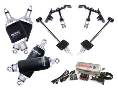 Suspension - Air Suspension Kits - RideTech by Air Ride - Chevrolet Camaro RideTech Level 1 Air Suspension System - 11170199
