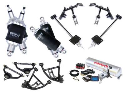 Suspension - Air Suspension Kits - RideTech by Air Ride - Chevrolet Camaro RideTech Level 2 Air Suspension System - 11170299