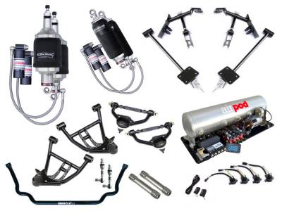 Suspension - Air Suspension Kits - RideTech by Air Ride - Chevrolet Camaro RideTech Level 3 Air Suspension System - 11170399
