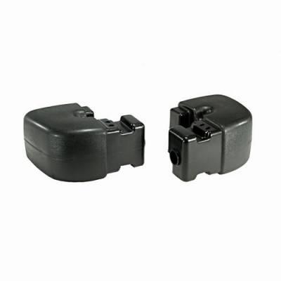 Wrangler - Rear Bumper - Omix - Omix Rear Bumper Extension - Plastic - 12031-09
