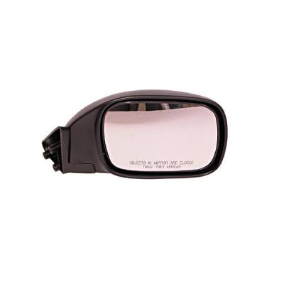 Cherokee - Mirrors - Omix - Omix Side View Mirror - Right - Black - 12035-16