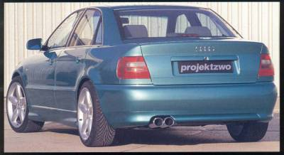 Body Kits - Rear Lip - ProjektZwo - B5 Rear Apron