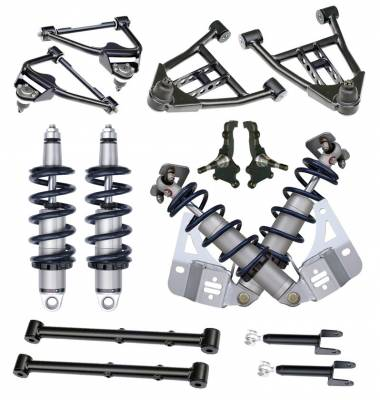 Suspension - Air Suspension Kits - RideTech by Air Ride - GMC Caballero RideTech Level 1 CoilOver System - Non-Adjustable - 11230109