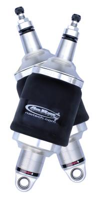Suspension - Air Suspension Kits - RideTech by Air Ride - GMC Caballero RideTech Single Adjustable Front ShockWave Kit - 11243001