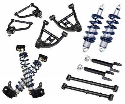 Suspension - Air Suspension Kits - RideTech by Air Ride - GMC Caballero RideTech Level 1 CoilOver System - Non-Adjustable - 11320109