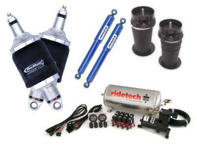 Suspension - Air Suspension Kits - RideTech by Air Ride - Chevrolet Malibu RideTech Level 1 Air Suspension System - 11320199