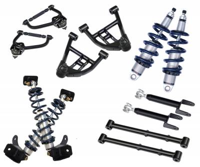 Suspension - Air Suspension Kits - RideTech by Air Ride - GMC Caballero RideTech Level 2 CoilOver System - Single Adjustable - 11320210