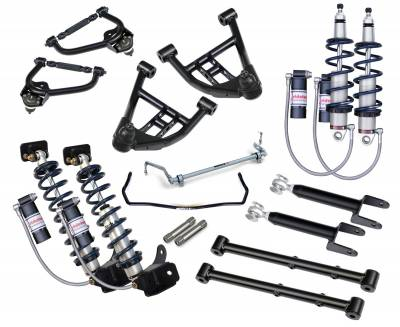 Suspension - Air Suspension Kits - RideTech by Air Ride - Chevrolet Malibu RideTech Level 3 CoilOver System - Triple Adjustable - 11320311