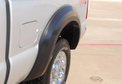 F350 - Fender Flares - Prestige - Ford F350 Prestige Rear Pair EX Wide Style Standard Fender Flare Set - EX314SB