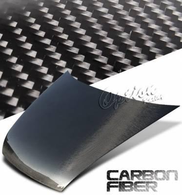 Accord 4Dr - Hoods - OptionRacing - Honda Accord 4DR Option Racing Carbon Fiber Hood - NRG-CH-H036