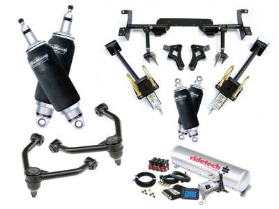 Suspension - Air Suspension Kits - RideTech by Air Ride - Plymouth Barracuda RideTech Level 2 Air Suspension System - 13020299