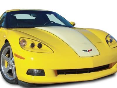 Corvette - Hoods - RKSport - Chevrolet Corvette RKSport Carbon Fiber Supercharger Hood - 16011003