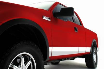 F150 - Body Kit Accessories - ICI - Ford F150 ICI Rocker Panels - 12PC - T4129-304M