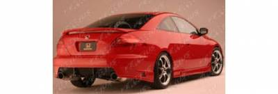 Pure - Honda Accord Pure RO JA Style Rear Bumper - P44170R