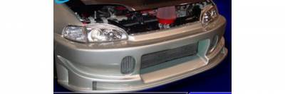 Pure - Honda Civic Pure Group B Style Front Bumper - P44302
