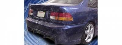 Pure - Honda Civic Pure Group B Style Rear Bumper - P44769