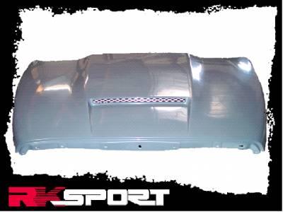 RK Sport - Dodge Ram RK Sport Ram-Air Hood - 21012000
