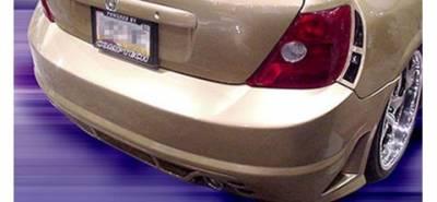 Pure - Honda Civic Pure Super Street Style Wide Style Rear Bumper - P44859