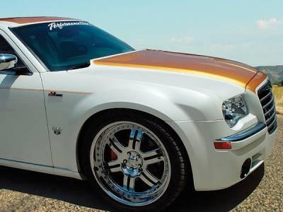 300 - Hoods - RKSport - Chrysler 300 RKSport High-Rise Hood - 23011000