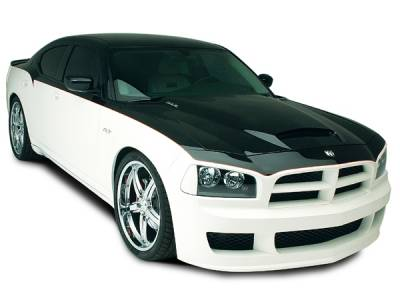 Charger - Hoods - RKSport - Dodge Charger RKSport Ram Air Hood - 24011000