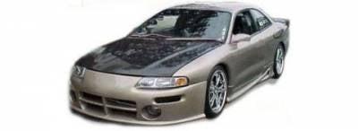 Avenger - Front Bumper - Pure - Dodge Avenger Pure Viper Front Bumper - Urethane - P55004