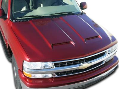 Silverado - Hoods - RKSport - Chevrolet Silverado RKSport Ram Air Hood - 29011000