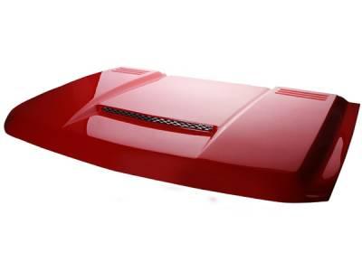 Silverado - Hoods - RKSport - Chevrolet Silverado RKSport Ram Air Hood - 29013000