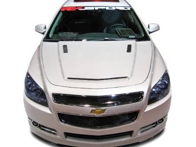 Malibu - Hoods - RKSport - Chevrolet Malibu RKSport Ram Air Extractor Hood - 37011000