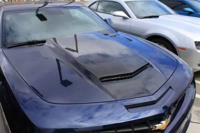 Camaro - Hoods - RK Sport - Chevrolet Camaro RK Sport Ram-Air Hood - 40011115