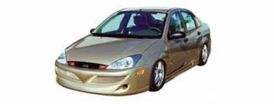 Focus 4Dr - Body Kits - JSP - Ford Focus JSP Rave Body Style Full Body Kit - B1852