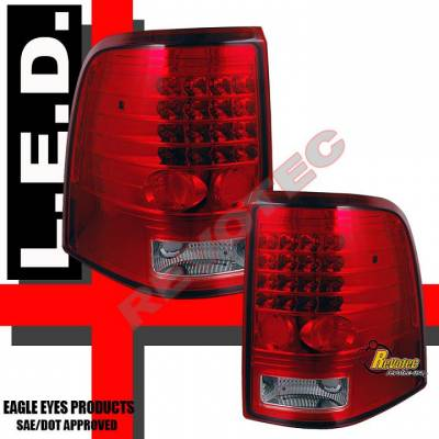 Headlights & Tail Lights - Led Tail Lights - Saber - RED LED Tail lights