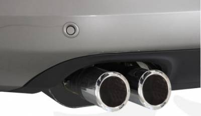 Exhaust - Mufflers - Remus - Volkswagen Passat Remus Sports Label Rear Muffler Tips - 84mm - Stamped - 0003-78