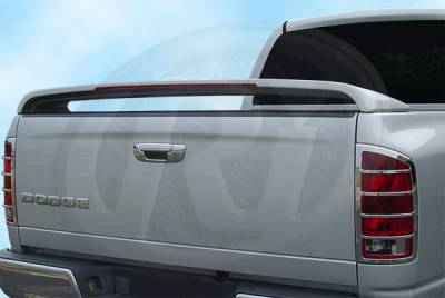 Spoilers - Custom Wing - Restyling Ideas - Dodge Ram Restyling Ideas Factory SRT Style Spoiler with LED - 01-A16820
