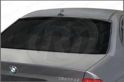 Restyling Ideas - BMW 3 Series 4DR Restyling Ideas Rear Window Mount Spoiler - 01-A16828