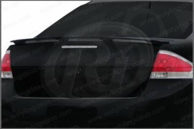 Spoilers - Custom Wing - Restyling Ideas - Ford Focus Restyling Ideas Factory Style Spoiler - 01-A16847
