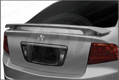 Restyling Ideas - Acura TL Restyling Ideas Factory 2-Post Style Spoiler - 01-ACTL04F2P