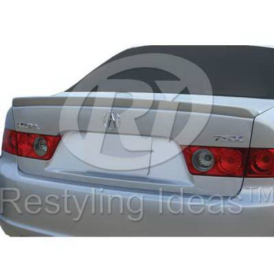Spoilers - Custom Wing - Restyling Ideas - Acura TSX Restyling Ideas Spoiler - 01-ACTS04C