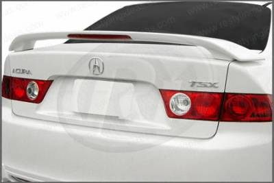 Spoilers - Custom Wing - Restyling Ideas - Acura TSX Restyling Ideas Factory 2-Post Style Spoiler with LED - 01-ACTS04FL