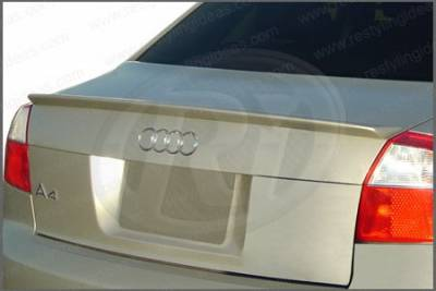 Restyling Ideas - Audi A4 Restyling Ideas Factory Lip Style Spoiler - 01-AUA402F
