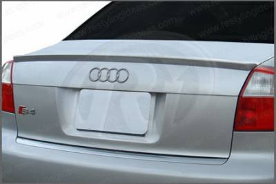 Restyling Ideas - Audi A4 Restyling Ideas S-Line Lip Style Spoiler - 01-AUA407CS-L
