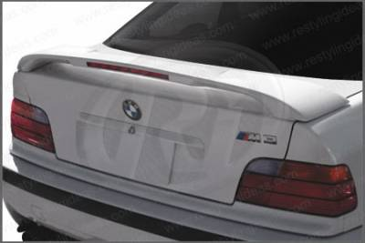 Restyling Ideas - BMW 3 Series 2DR Restyling Ideas Factory Style Spoiler with LED - 01-BMM392FL