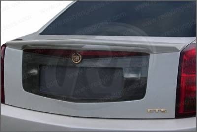 Spoilers - Custom Wing - Restyling Ideas - Cadillac CTS Restyling Ideas Custom 2-Post Style Spoiler - 01-CACT03C