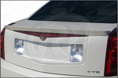 Spoilers - Custom Wing - Restyling Ideas - Cadillac CTS Restyling Ideas Factory Lip Style Spoiler - 01-CACT06FLM