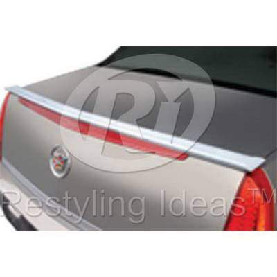 Spoilers - Custom Wing - Restyling Ideas - Cadillac DeVille Restyling Ideas Spoiler - 01-CADT06C
