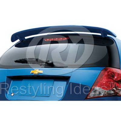 Spoilers - Custom Wing - Restyling Ideas - Chevrolet Aveo Restyling Ideas Spoiler - 01-CHAV05F5-2P