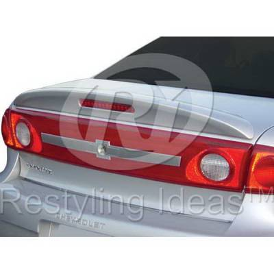 Spoilers - Custom Wing - Restyling Ideas - Chevrolet Cavalier Restyling Ideas Spoiler - 01-CHCAV03FL