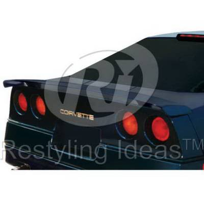 Spoilers - Custom Wing - Restyling Ideas - Chevrolet Corvette Restyling Ideas Spoiler - 01-CHCO84C