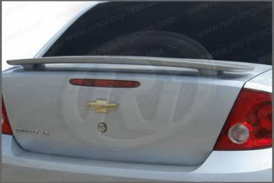 Spoilers - Custom Wing - Restyling Ideas - Chevrolet Cobalt 4DR Restyling Ideas Factory 2-Post Style Spoiler - 01-CHCOB05F4