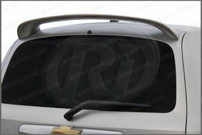 Spoilers - Custom Wing - Restyling Ideas - Chevrolet HHR Restyling Ideas Factory 2-Post Style Spoiler - 01-CHHH06F