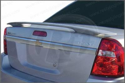 Spoilers - Custom Wing - Restyling Ideas - Chevrolet Malibu Restyling Ideas Factory Style Spoiler - 01-CHMA04F